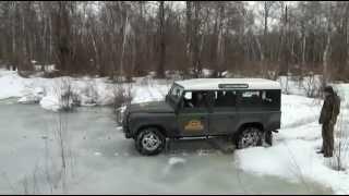 Невесомость-Самурай и Деф пытаются проехать по льду