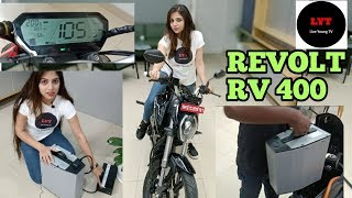 Revolt RV 400 || How to charge battery? || Complete review