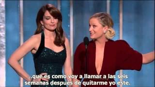 Monologo Tina Fey &  Amy Poehler - GLOBOS DE ORO 2013 (SUBTITULADO ESPAÑOL)