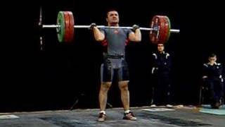 Safak Ekici - Clean & Jerk 145Kg
