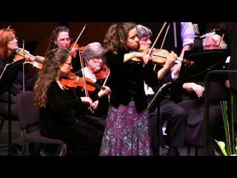 Bruch Violin Concerto in G minor - Sarah Hall