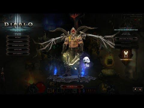 Diablo 3 2.6.1 PTR/Season 12/13 GR 104 HOTA IK (1500% /Strongarm) Barb