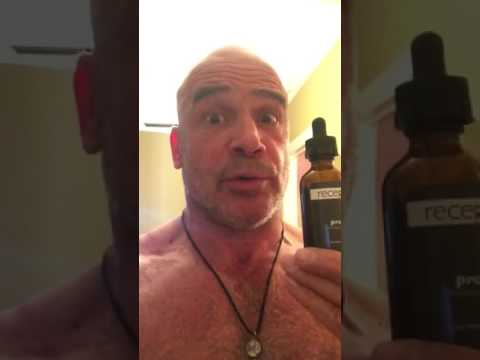 Bas Rutten Uses Receptra Pro After Some Suctioning