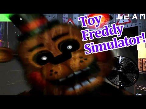 Golden Toy Freddy is awesome! Toy Freddy simulator!