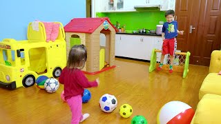 Learn Colors and Best Goalkeeper Xavi ABCKids