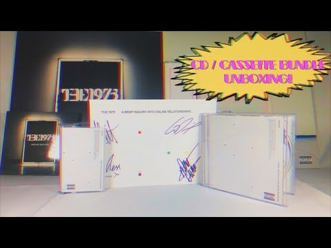 The 1975 / A Brief Inquiry Into Online Relationships (CD / CASSETTE BUNDLE UNBOXING!) Mp3