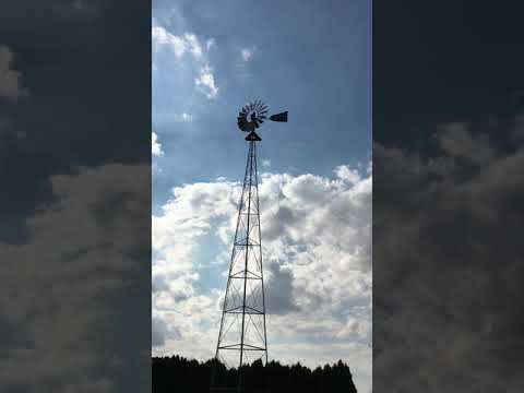 Vintage Windmill in Arthur Illinois