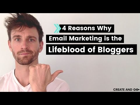 4 Reasons Why Email Marketing is Important and The Life Blood of Bloggers