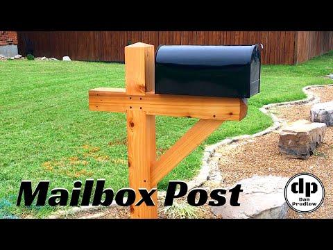 Mailbox Post | Timber Frame | Reclaimed Timber | DIY