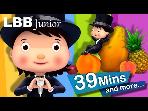 I Love Fruit! | And Lots More Original Songs | From LBB Junior!
