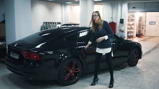 видео Тест-драйв Audi A7 (поколение II) - Audi A7 Sportback как стимул для принятия решения
