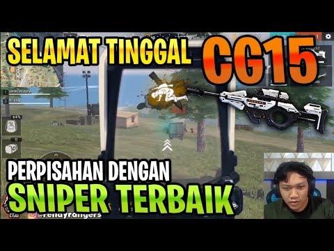 DETIK DETIK PERPISAHAN DENGAN CG15! TERIMAKASIH SNIPER SMG TERBAIK! - Garena Free Fire