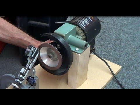 Home Made Lathe Carbide Tool Grinder