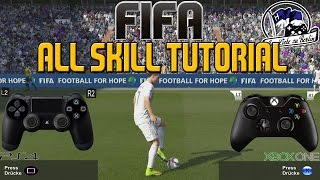 FIFA | All Skill Moves Tutorial + Controller Animation [PS4/XBOX ONE/PC]