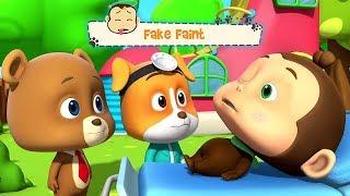 Fake Faint | Piirretyt lapsille | Kids Cartoon Videos | Kids Tv Suomi | Finnish Lasten Lauluja