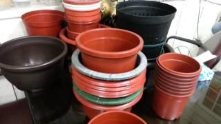 Plastic Flower Pot Plastic Hanging Pot Plastic Sauceplastic Nursery Bowl Nursery Tray