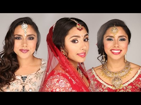 1 Woman + 5 Indian Bridal Looks
