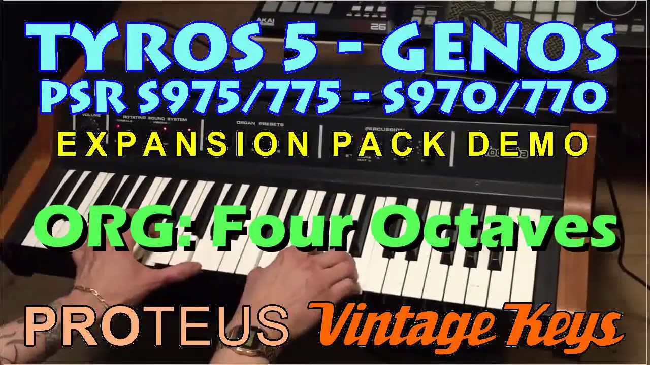 PROTEUS Vintage Keys Expansion Pack - Sound and Styles