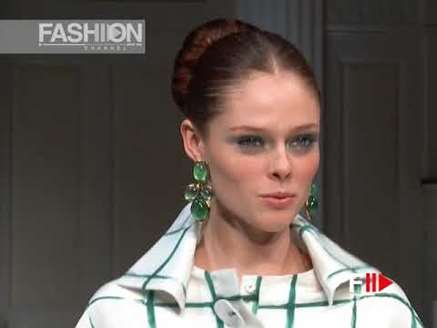 OSCAR DE LA RENTA Spring Summer 2011 New York - Fashion Channel