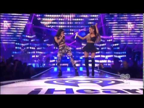 Nicki Minaj Ft Ariana Grande - Bang Bang Live at iHeartRadio Music Festival 2014