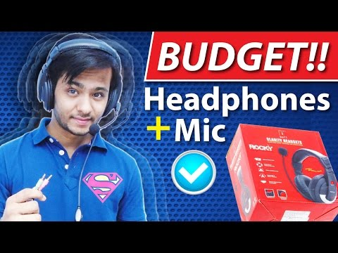 Best Budget iball Rocky Headphones with Microphone! Under 500Rs ✔
