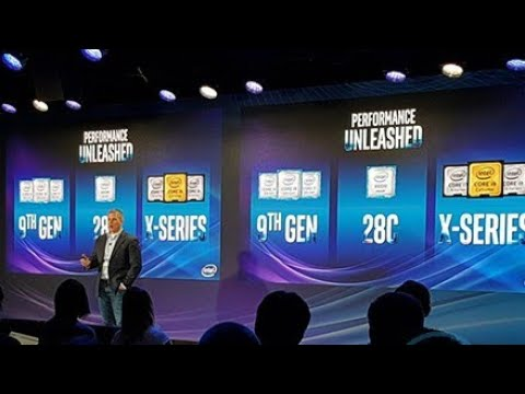 Demo Intel Core i7/i9 Generasi Ke-9. di New York - Bahasa Indonesia