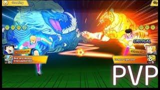 कप्तान त्सुबासा ड्रीम टीम! पीवीपी मोटा बनाम क्वाजरएफसी screenshot 3