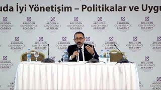Kamuda İyi Yönetişim Konferansı ▸ Prof. Dr. Metin Çakmakçı'nın Kapanış Konuşması