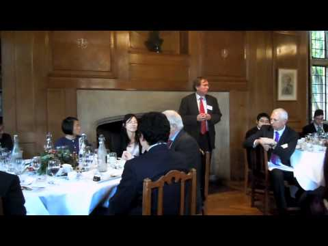 Rhodes House Warden Dr Donald Markwell Address to China Oxford Scholarship Fund  Scholars