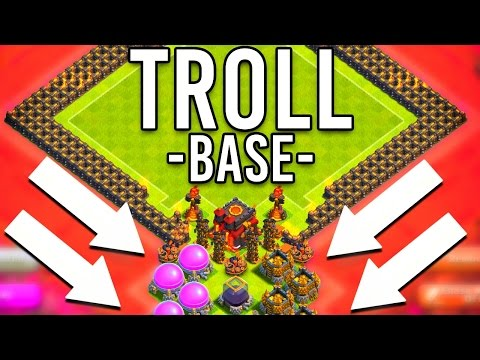 Clash of Clans | ULTIMATE TROLL BASE BUILD! (SILVER-???)