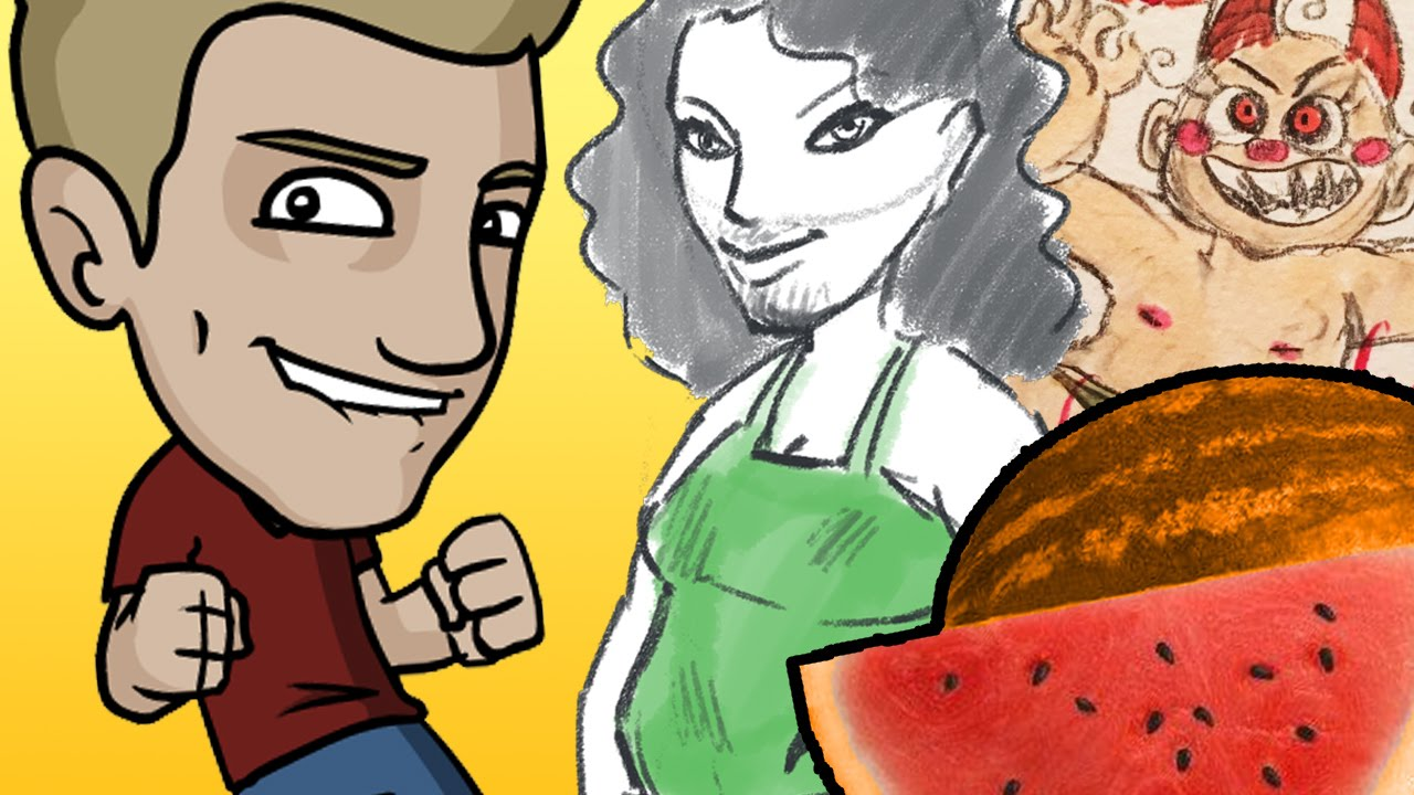Character Design Jazza : Arty games with jazza and friends youtube