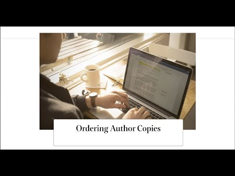 Ordering Author Copies on KDP