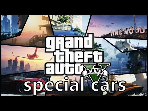 GTA 5 - All Special Cars From Garage