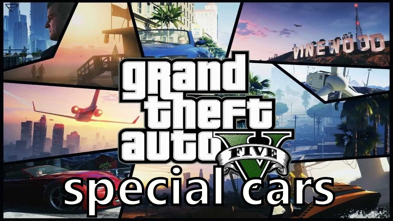 Gta  All Special Cars From Garage