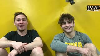 A relationship of respect between Iowa's Spencer Lee, Austin DeSanto