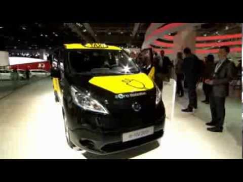 e-NV200 ELECTRIC BARCELONA TAXI launch at Frankfurt Motorshow 2013