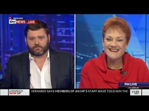 PAULINE HANSON ON PAUL MURRAY LIVE | Political correctness will not take my voice