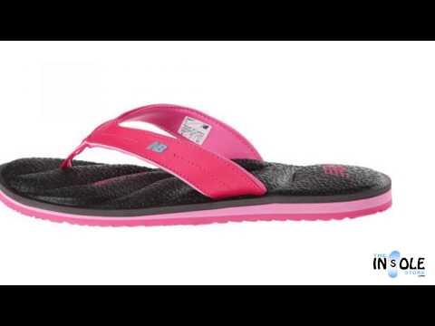 New Balance Rev Black & Pink PlusH20 Sandals for Women