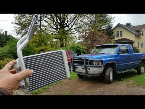 Dodge Ram Heater Core Replacement.
