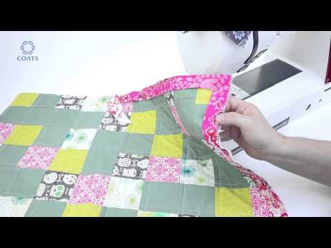 Learn How To Bind And Finish Your Quilt