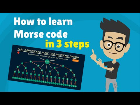 Morse Code - How To Learn Morse Code Alphabet In 3 Steps