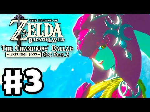Mipha's Song! - The Legend of Zelda: Breath of the Wild DLC Pack 2 Gameplay
