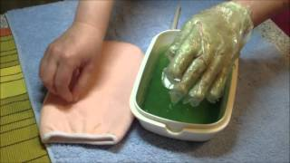 Cosmetic Paraffin Wax Mask for Hand Skin at Home Yourself - Hand Care Tips for Women