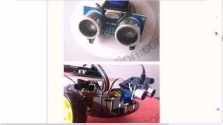 v.01 Arduino бесконтактный выключатель proximity Switch HC-SR04 Distance Measuring