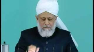 Friday Sermon: 10th July 2009 - Part 3 (Urdu)