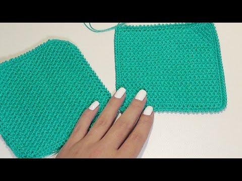 Вязание для начинающих. Узоры крючком: зефирки. Подробный видео урок