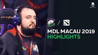 Лучшие моменты Virtus.pro на MDL Macau 2019