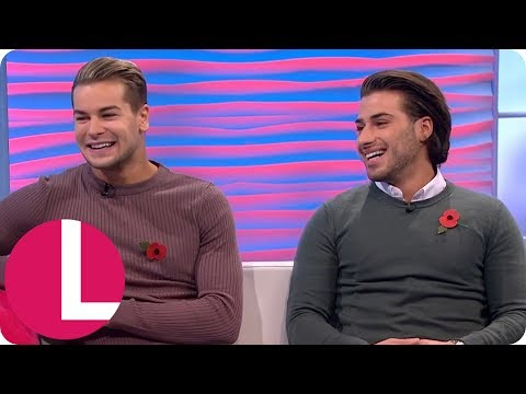 Love Island's Chris and Kem Are All Still Totally Loved Up With Amber and Liv   Lorraine