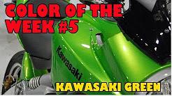 Kawasaki Green Color of the Week #5