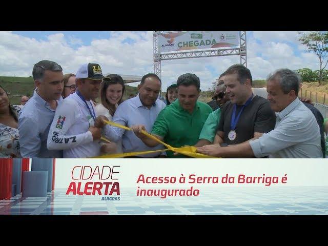 Acesso à Serra da Barriga é inaugurado em União dos Palmares